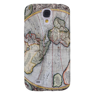 Vintage Atlas World Map Galaxy S4 Cover