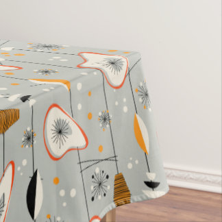 Vintage Atomic Tiki Design Tablecloth