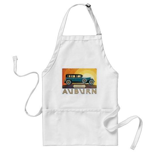 Vintage Auburn Motors Sunburst Ad Adult Apron