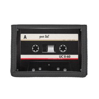 vintage audio cassette tape wallet