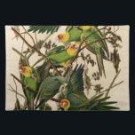 """Vintage Audubon Parrot Cloth Placemat<br><div class=""""desc"""">Vintage Audubon Parrot</div>"""