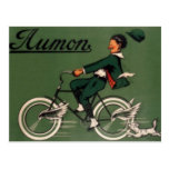 Vintage Aumon Bicycle Advertisement Postcard