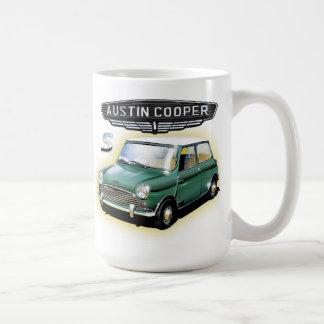 Vintage Austin  Cooper  painting Coffee Mugs