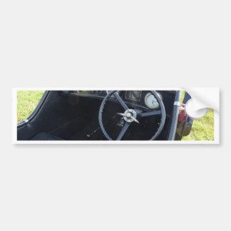 Vintage Austin Seven Dashboard Bumper Sticker