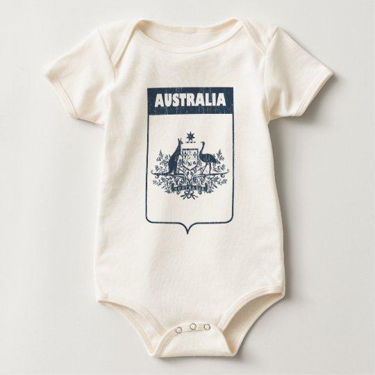 Vintage Australia Baby Bodysuit
