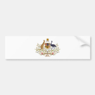 Vintage Australia Coat Of Arms Bumper Stickers