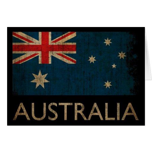 Vintage Australia Felicitaciones