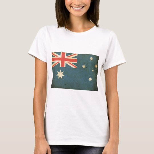 Vintage Australia Flag T-Shirt