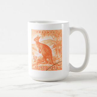 Vintage Australia Kangaroo Coffee Mug