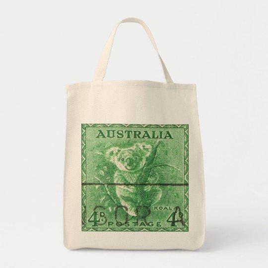 Vintage Australia Koala Bear Tote Bag