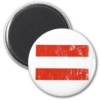 Vintage Austria 2 Inch Round Magnet