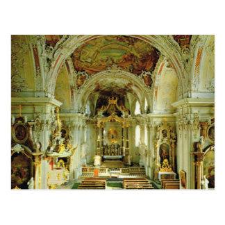 Vintage Austria, Basilica Wilten, Innsbruck Postcard
