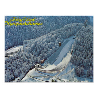 Vintage Austria, Berg Isel, Olympic Ski Jump, Print