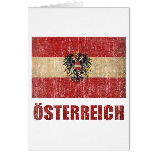 Vintage Austria Card