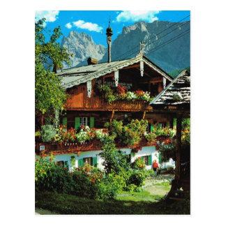 Vintage Austria, St Johann im Tirol Postcard