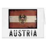 Vintage Austria Tarjeta