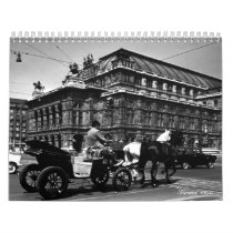 Vintage Austria Vienna 1970 Calendar