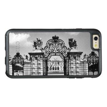 Vintage Austria Vienna Belvedere castle gate OtterBox iPhone 6/6s Plus Case