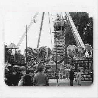 Vintage Austria Vienna Prater amusement park 1970 Mouse Pad