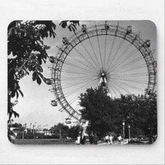 Vintage Austria Vienna Prater amusement park Mouse Pad