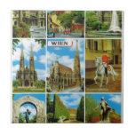 Vintage Austria, Wien, Viena, Multiview Azulejos Ceramicos