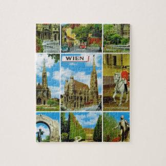 Vintage Austria, Wien, Viena, Multiview Puzzle