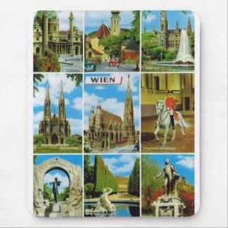Vintage Austria, Wien, Vienna, Multiview Mouse Pad