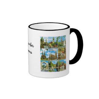 Vintage Austria, Wien, Vienna, Multiview Ringer Mug