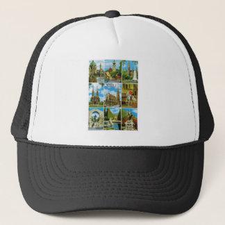 Vintage Austria, Wien, Vienna, Multiview Trucker Hat