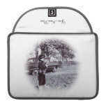 Vintage Auto and Little Cowboy Mac Book Pro Sleeve MacBook Pro Sleeves
