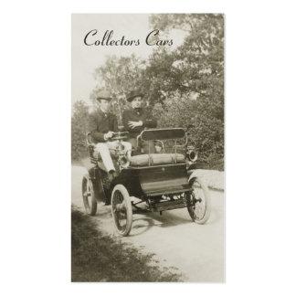 Vintage auto business card