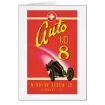 Vintage Auto Car Product Label Art Cards