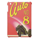 Vintage Auto Car Product Label Art iPad Mini Cover