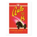 Vintage Auto Car Product Label Art Postcards