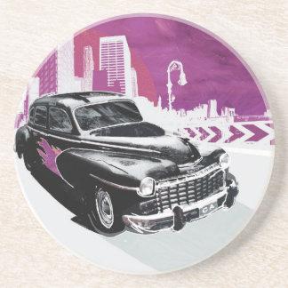 Vintage Auto Drink Coaster