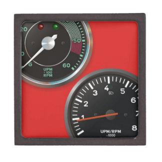 Vintage auto instruments / Classic car gauges Gift Box