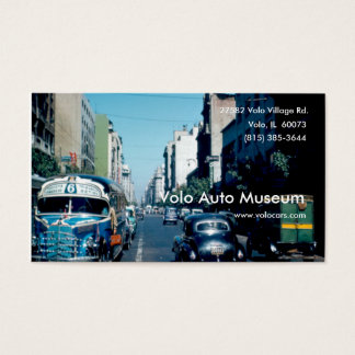 Vintage Auto Museum Business Card