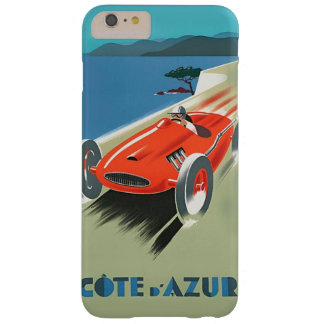 Vintage Auto Racing Cote D'Azur Barely There iPhone 6 Plus Case