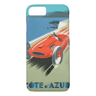 Vintage Auto Racing Cote D'Azur iPhone 7 Case