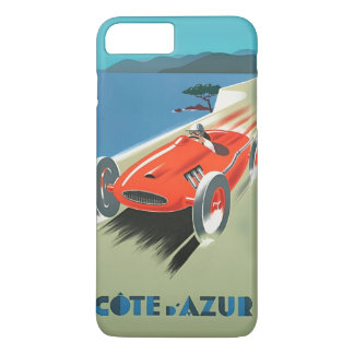 Vintage Auto Racing Cote D'Azur iPhone 8 Plus/7 Plus Case