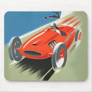 Vintage Auto Racing Mouse Pad