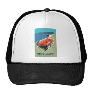 Vintage Auto Racing Trucker Hat