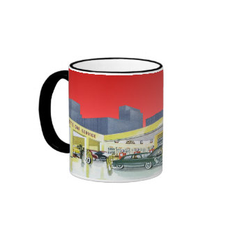 Vintage Auto Shop Mug