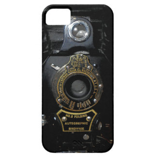 VINTAGE AUTOGRAPHIC BROWNIE FOLDING CAMERA iPhone 5 CASES