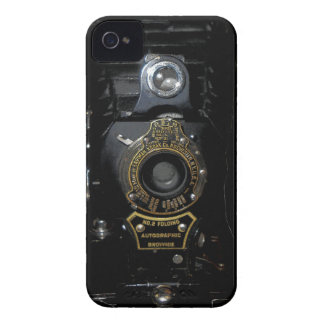 VINTAGE AUTOGRAPHIC BROWNIE FOLDING CAMERA iPhone 4 Case-Mate CASE