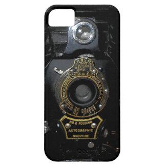 VINTAGE AUTOGRAPHIC BROWNIE FOLDING CAMERA iPhone SE/5/5s CASE