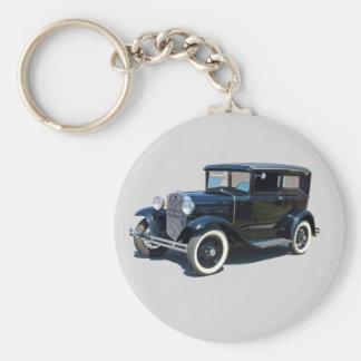 Vintage Automobile Keychain