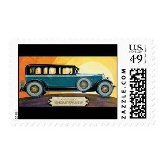 Vintage Automobile Postage