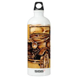 Vintage automobile retro fineart F050 Aluminum Water Bottle