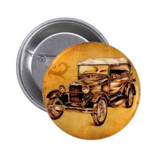 Vintage automobile retro fineart F050 Pin